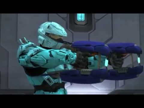 Halo red vs blue:I just wanna run (remix)