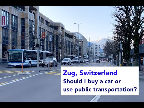 Moving to Zug, Switzerland - Do I need to buy a car? Should I just use public transportation?