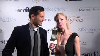 """Cas Anvar """"Diana"""" at Kathy Duliakas' Oscar Suite & Party Thumbnail"""