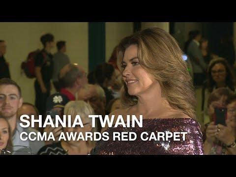 Shania Twain | 2018 CCMA Awards Red Carpet