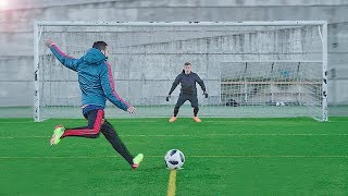 freekickerz vs Diego Costa & Koke - Free Kick & Penalty Challenge