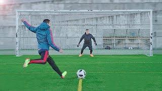 freekickerz vs Diego Costa & Koke - Free Kick & Penalty Challenge
