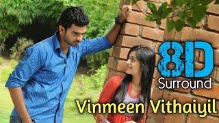 Vinmeen Vithaiyil 8D | Thegidi | Ashok Selvan | Janani Iyer | Nivas K Prasanna | 8D BeatZ