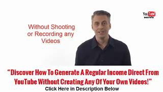 how to make money off youtube you can do it|youtube secrets