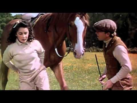 "Elizabeth Taylor in ""National Velvet"" 1944"