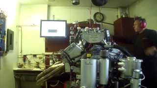 1001cui street engine. 1600 hp on E-85.