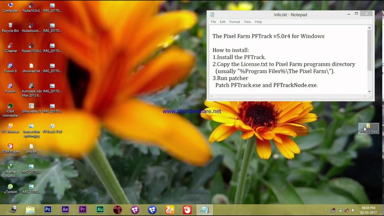 Pftrack torrent download - pftrack torrent download windows