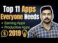 Top 11 Apps for Everyone | Earning Apps | Study Apps | Productive Apps
