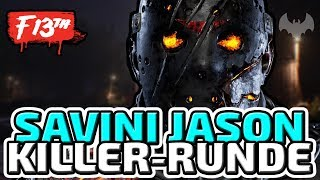 SAVINI JASON ALS KILLER - ♠ FRIDAY THE 13TH: THE GAME ♠ - Deutsch German - Dhalucard