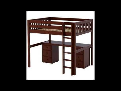 Appealing Loft Bed With Desk And Drawers