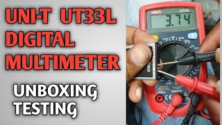 UNI-T UT-33 Digital Multimeter Best Multimeter