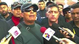 En el funeral del camarada Juancho Montoya, aporrea tvi, febrero 2014