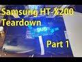 Samsung HT-X200 teardown - Part 1