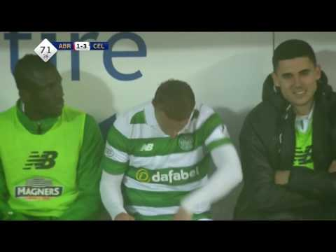 Leigh Griffiths tells Steven McLean to f-off