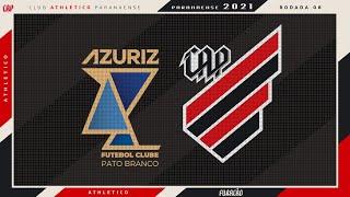 Azuriz x Athletico Paranaense | PRÉ-JOGO AO VIVO + TRANSMISSÃO EM ÁUDIO