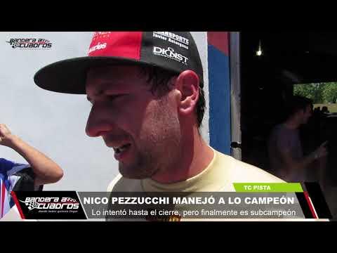 Nicolás Pezzucchi manejó a lo campeón