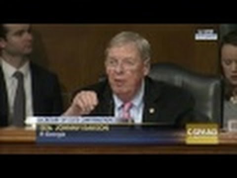 Isakson Questions Secretary of State Nominee at Senate Foreign Relations Hearing