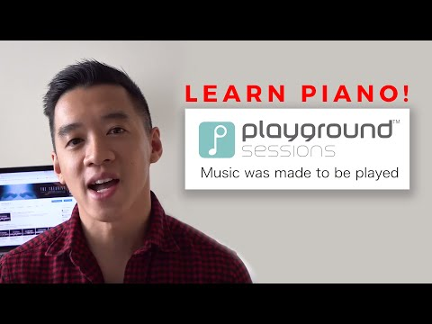 Learn to Play Piano with Playground Sessions