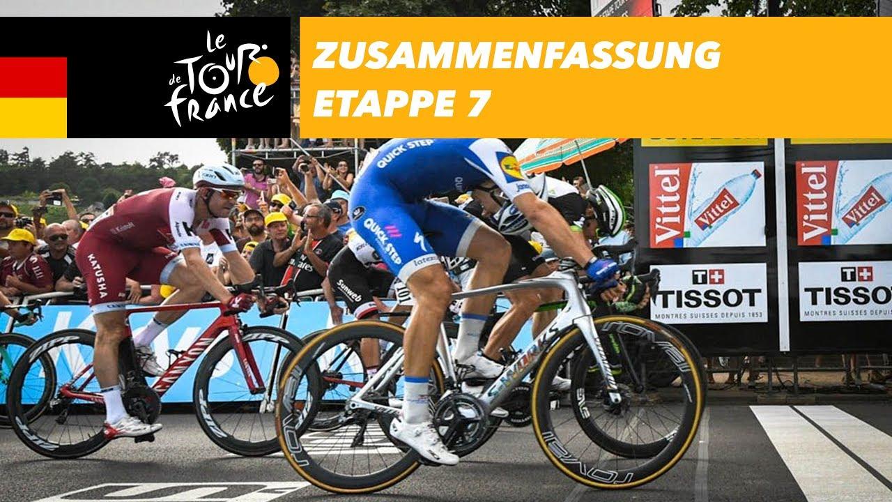 Zusammenfassung - Etappe 7 - Tour de France 2017