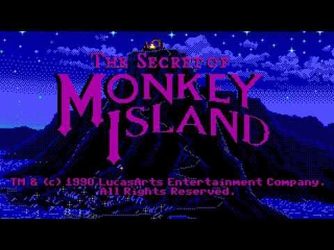 The Secret Of Monkey Island: Intro (Game Blaster/CMS)