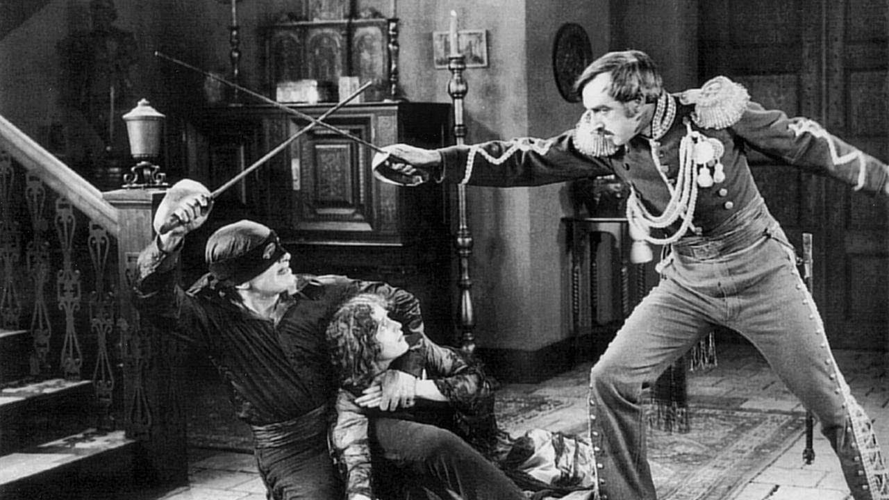 Image result for The mark of zorro 1920