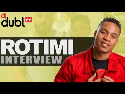 Rotimi Interview - Walk With Me EP, working on Power, did he really owe 50 Cent money & Afro B!