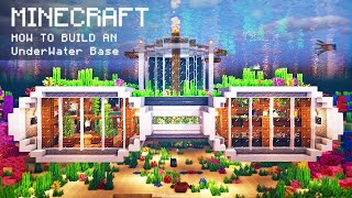 Minecraft: How To Build an Underwater Base