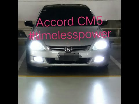 Share Pemakaian Accord VTi 2004 CM5