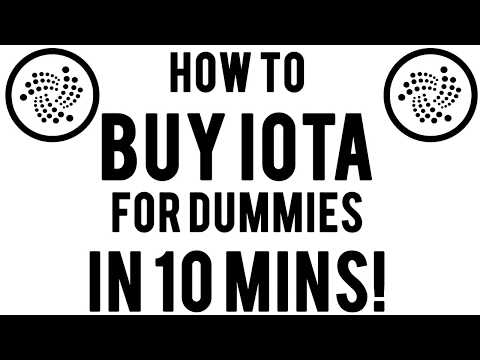 How to buy IOTA easily in under 5 minutes! VIDEO TUTORIAL (Crypto for newbies!) [CoinBase] 2018