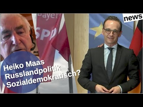 Ist Heiko Maas Russlandpolitik noch sozialdemokratisch?