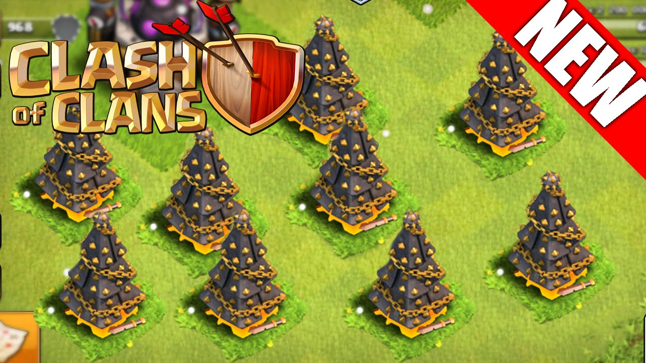 Spawn A Christmas Tree Clash Of Clans Get Your Xmas Tree Fast