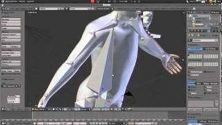how to adding and rigging bones in blender 2 5 2 6