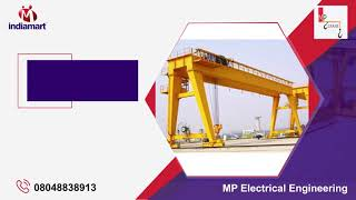 Material Handling Crane and Electric Panel Manufacturer