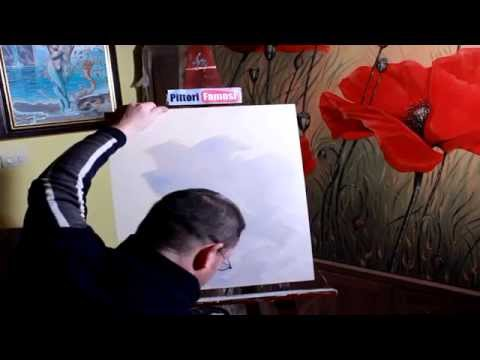 Tecnica della spennellata decorare le pareti di casa - Tecnica per decorare pareti ...