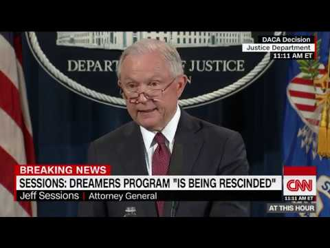 Download Youtube: Trump administration ends DACA, calls it unconstitutional