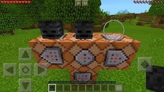 How To Spawn the Command Boss in Minecraft Pocket Edition (Commander Boss Addon)