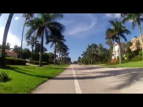 Cycling A1A South Florida Delray to Lighthouse Point