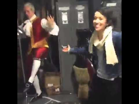 Jonathan Groff Dancing