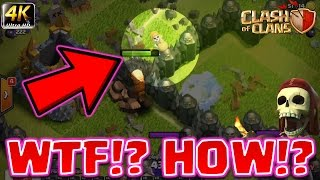 Clash of Clans - *GLITCH?* Wallbreakers JUMP walls!?