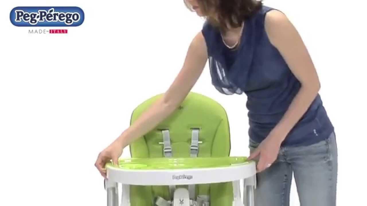 Chaise haute b b prima pappa zero 3 de peg perego youtube - Chaise haute bebe prima pappa ...