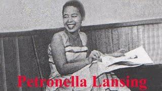 Petronella Lansing - Ginavo Ku Ada Sinduahai