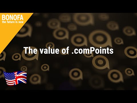 BONOFA - The value of .comPoints | English