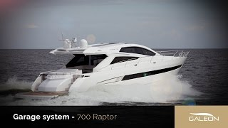 Galeon 700 Raptor garage