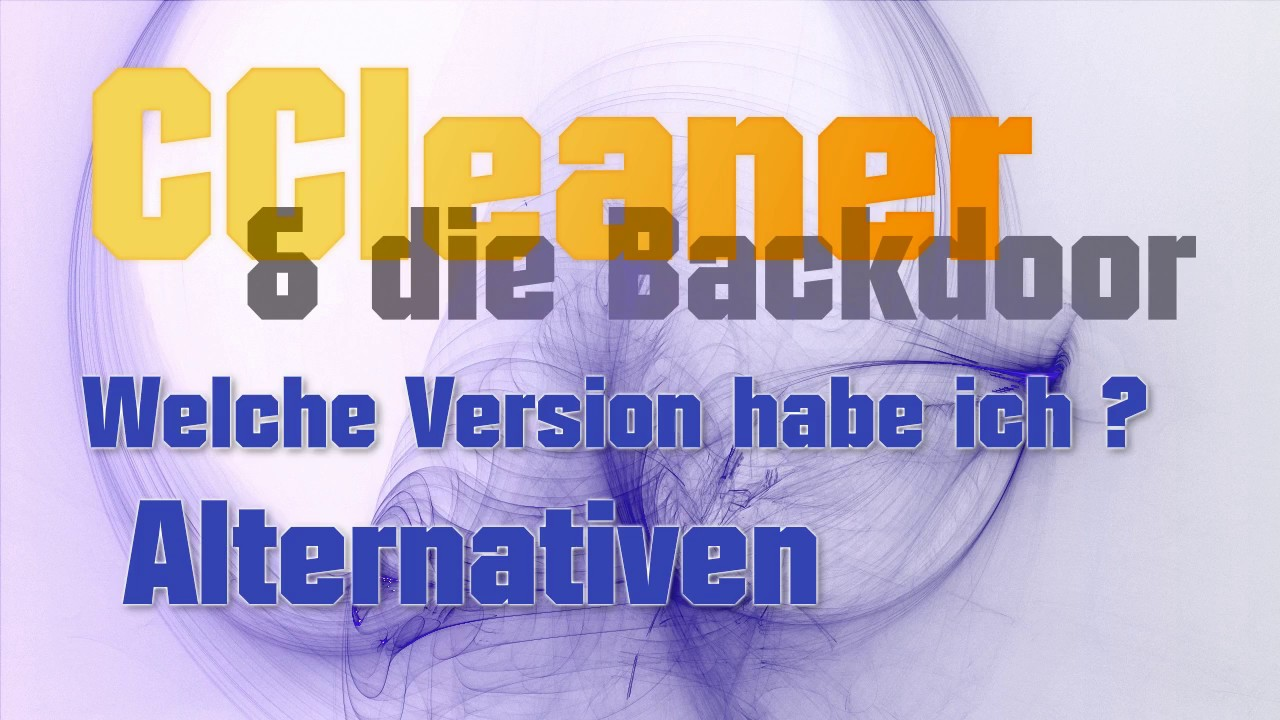Ccleaner Alternativen