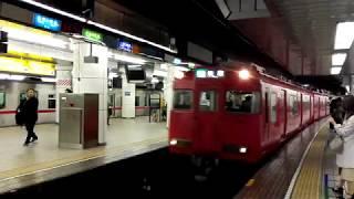 「出会い運用!三河線ワンマン対応車」名鉄6017F準急佐屋行き、名古屋駅発車