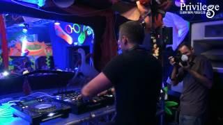 Jay Lumen live at Privilege Ibiza / Spain (El Row Show / Vista Club) 01-09-2012