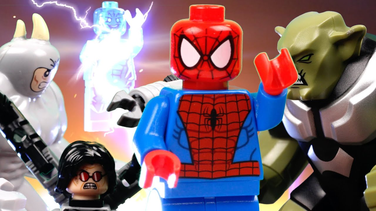 TRAILER: LEGO ULTIMATE SPIDERMAN VS SINISTER SIX (Green ...