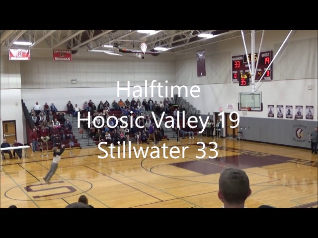 Game Highlights Boys Varsity: Hoosic Valley vs Stillwater