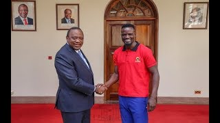 Why President Uhuru met Jubilee Party candidate for Kibera, MacDonald Mariga