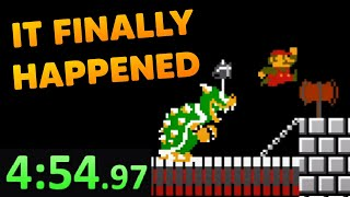 Super Mario Bros. Final Second Barrier | Speedrun Community Highlights